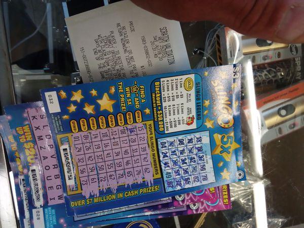 $1000 WINNING SCRATCHER FOR $850