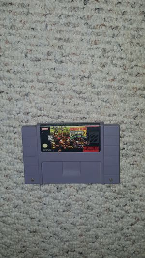 Nintendo GAME SNES - DONKEY KONG COUNTRY 2 for Sale in Fairfax, VA