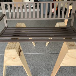 Porch Swing with padded bench seats and pillows for Sale in Mesa, AZ