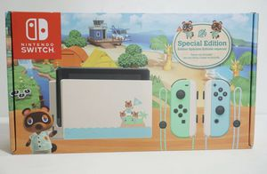 Nintendo Switch Console 32GB Animal Crossing New Horizons Edition SAME DAY SHIP for Sale in Miami, FL