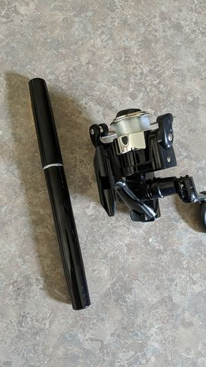 A mini fishing pole and real for Sale in Bristow, VA