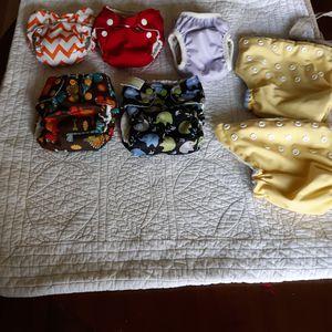 Newborn cloth diapers for Sale in Chicago, IL