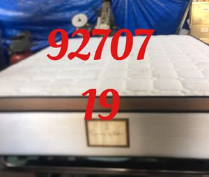"12"" thick foam Encase 1 Sided Pillow Top mattress. Not rebuild. All new materials. Price includes tax and local delivery. Cash only. Twin Mattre for Sale in Irvine, CA"