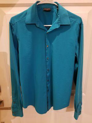 Van Heusen Light Blue/green Mens Dress Shirt for Sale in Lawrenceville, GA