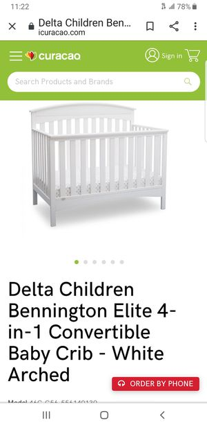 Delta baby crib brand new need gone today special price today only for Sale in Phoenix, AZ