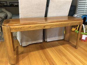 Hardwood antique table for Sale in Houston, TX