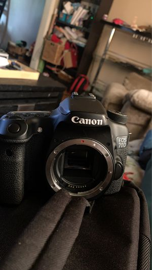 Canon 70d for Sale in Plymouth, MI