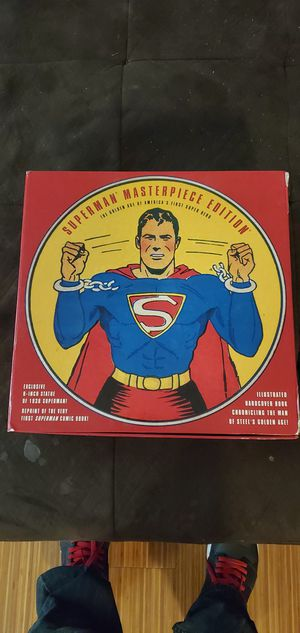 Superman masterpiece edition collectable 8in statue and comic book for Sale in Portland, OR