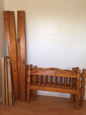 WOOD BUNK BED for Sale in Oakland, CA