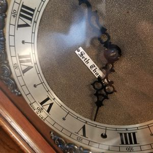 Antique Seth thomas Self Starting Westminster electric Chime Clock for Sale in Butler, NJ