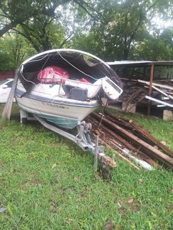 Boat with trailer for Sale in Dallas,  TX