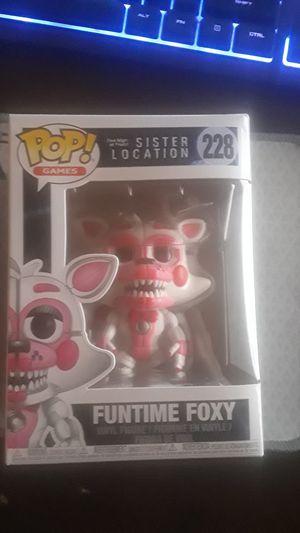 "Funko pop ""Funtime Foxy Sister location"" for Sale in Hialeah, FL"