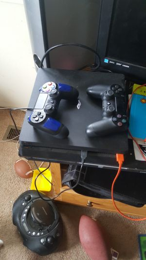 Ps4 with controllers and game for Sale in Whitehall, MT