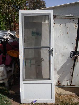 Double glass screen door for Sale in Stockton, CA