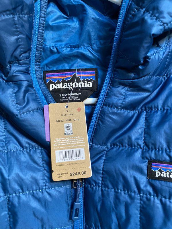 Patagonia nano puff down hoody