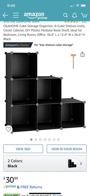 Closet organizer for Sale in Bellevue, WA