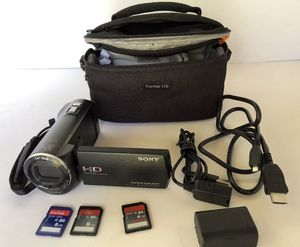 Sony hdr-cx220 camcorder for Sale in Fall River, MA