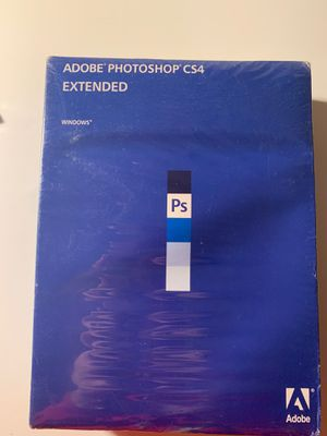 Adobe Photoshop CS4 Extended for Sale in Oakland, CA