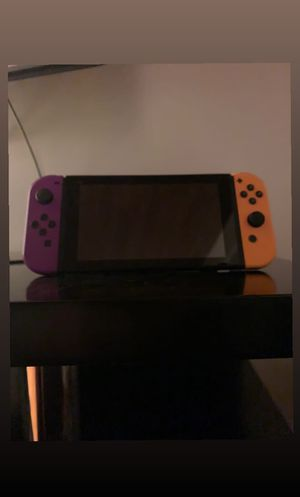 Nintendo Switch w/new joy con plus dock and 3 Mario games for Sale in Bellevue, WA