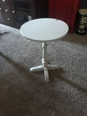 Antique round four leg side table for Sale in Revere, MA