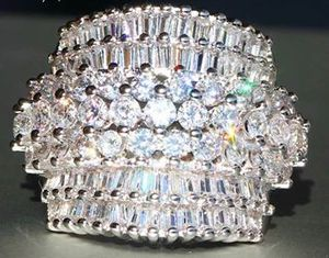 *NEW ARRIVAL* Stunning White Sapphire Wedding Engagement Ring Jewelry SZs 6 / 8 / 9 *See My 200 Items* for Sale in Palm Beach Gardens, FL