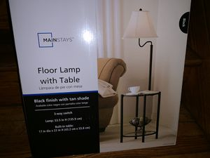 Floor Lamp with Table for Sale in Pittsburgh, PA