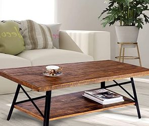 Coffee Table 46x24x18 Inch With Side Table 24x24x23 Inch for Sale in Ypsilanti,  MI