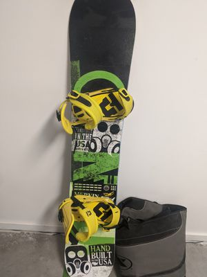 GNU Snow board, bindings and bag for Sale in San Diego, CA