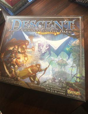Descent Board Game for Sale in Austin, TX
