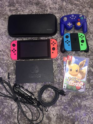 Nintendo switch package deal for Sale in Long Beach, CA