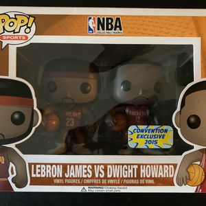 Funko POP Lebron James/Dwight Howard for Sale in Duluth, GA