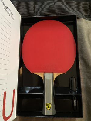 Kido 7P RTG Premium Ping Pong Paddle - Table Tennis Racket - Like New for Sale in Chicago, IL