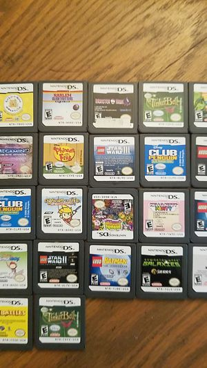 Nintendo ds game lot for Sale in Toms River, NJ
