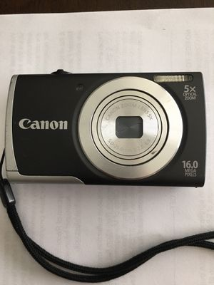 Canon PowerShot A2500 16MP Digital Camera with 5x zoom for Sale in Frisco, TX