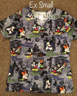 Disney Halloween Scrub Top for Sale in Staples, MN