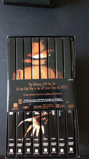 A Nightmare on Elm Street DVD Box Set for Sale in Burlington, NJ