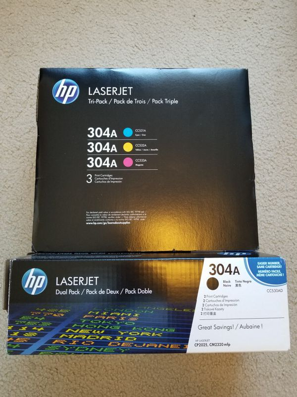 HP 304a tri-pack WITH BONUS! LOOK!