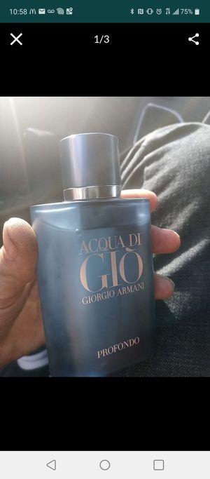ACQUA DI GIO PROFONDO 2.5OZ COLOGNE for Sale in Phoenix, AZ
