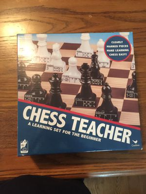 Chess teacher board game for Sale in Clearwater, FL