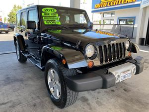 2012 Jeep Wrangler Unlimited for Sale in South Gate, CA