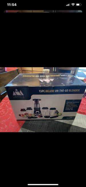 Granite Platinum Series - GP-2575 Blender - 15 Piece on the go blender - NEW for Sale in San Jose, CA