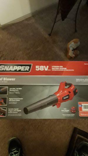 Snsppet 58V max Leaf Blower for Sale in Kent, WA