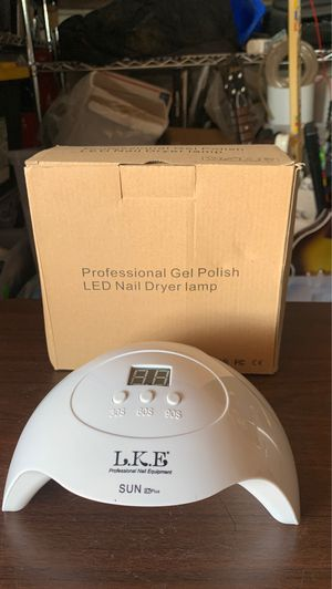 Professional gel polish led nail dryer lamp 48w for Sale in Los Angeles, CA