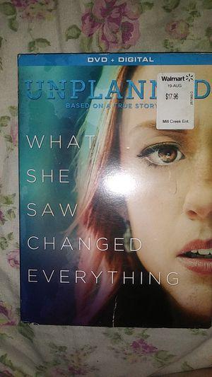 Unplanned DVD Digital for Sale in Stockton, CA