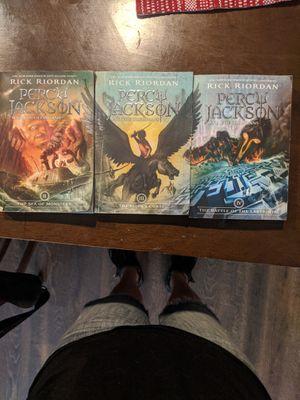 3 Percy Jackson Books for Sale in El Cerrito, CA