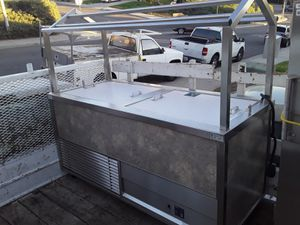 Electric Stainless steel cold and hot food cart for Sale in Moreno Valley, CA