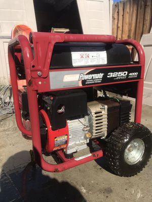 Portable Generator for Sale in Fresno, CA
