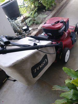 Toro lawn mower 6.5hp for Sale in Grand Terrace, CA