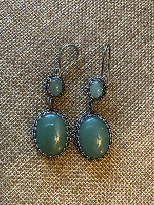 Semi precious stone, sterling silver Earrings for Sale in Turlock, CA