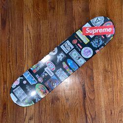 Supreme Stickers Skate Deck for Sale in Springfield,  VA